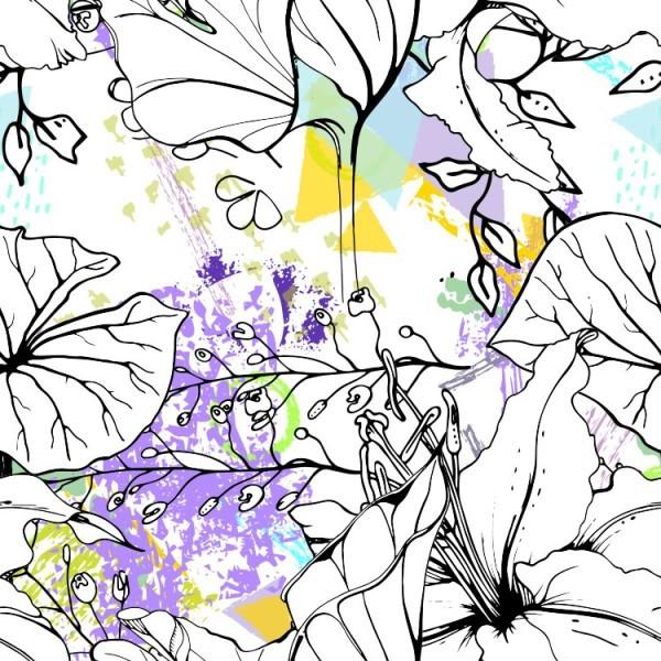 Περίγραμμα λουλουδιών