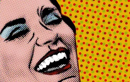 Χαρούμενη γυναίκα