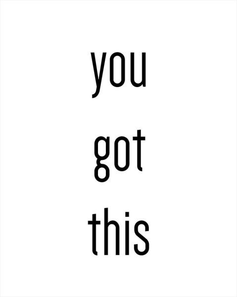 Το έχεις αυτό!