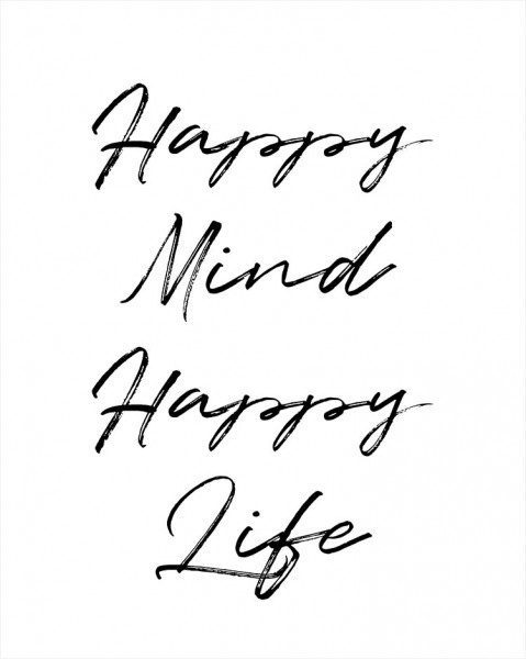 Χαρούμενο μυαλό, χαρούμενη ζωή!
