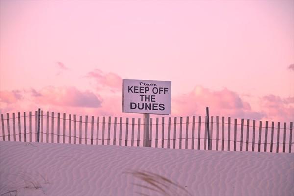 Παρακαλώ φυλάξτε τους αμμόλοφους!