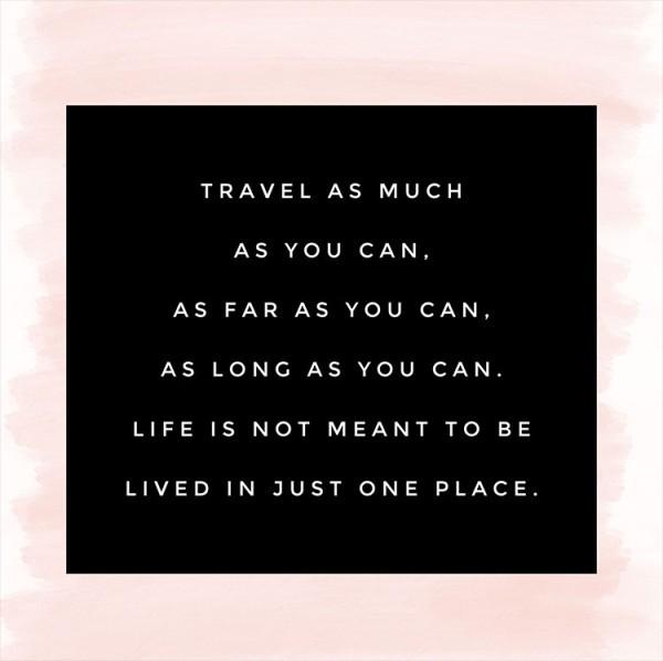 Ταξίδεψε όσο περισσότερο μπορείς!
