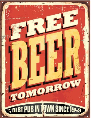 Free Beer Tomorrow, Φράσεις, Image Gallery
