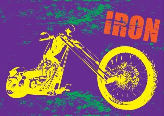 Μοτοσικλέτα IRON