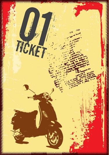Μοτοσικλέτα 01 ticket
