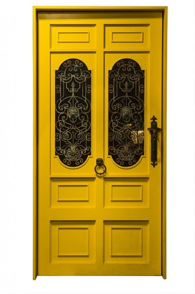 Κίτρινη πόρτα