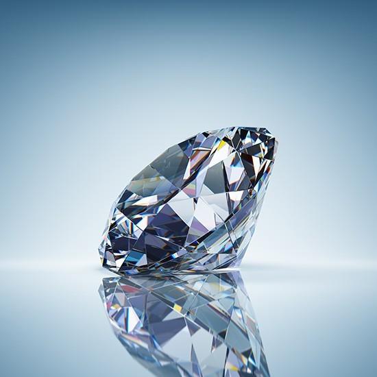 Αστραφτερό διαμάντι