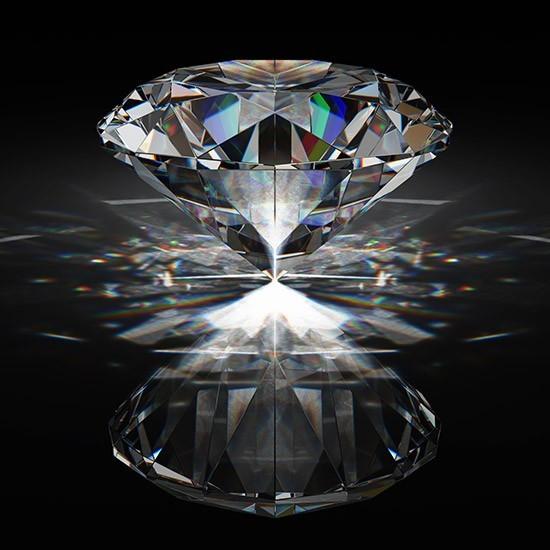 Διαμάντι που ισορροπεί