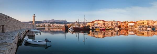 Παλιό λιμάνι του Ρεθύμνου, Κρήτη