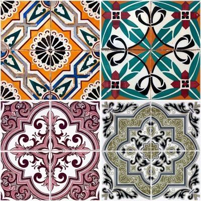 Retro Tiles, Φόντο - Τοίχοι, Image Gallery