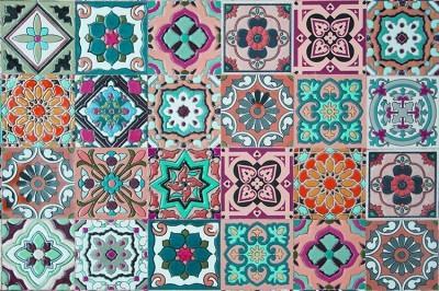 Ισπανικα πλακάκια, Φόντο - Τοίχοι, Image Gallery