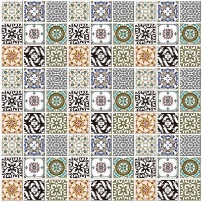 Γεωμετρικά Πλακάκια, Φόντο - Τοίχοι, Image Gallery
