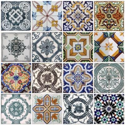 Πλακάκια Λισαβόνας, Φόντο - Τοίχοι, Image Gallery