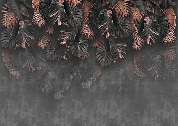 Γκρίζα & καφέ φύλλα
