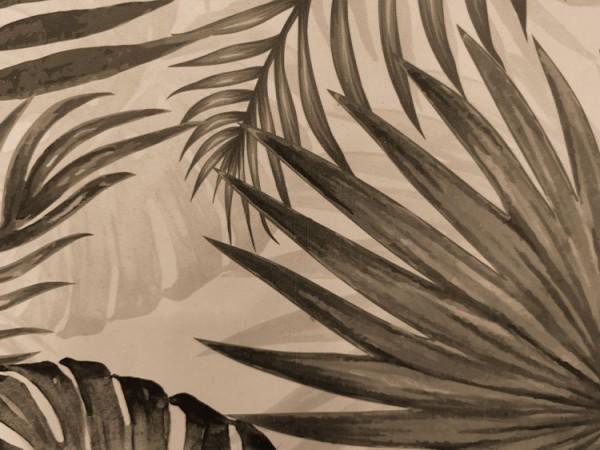 Καφέ τροπικά φύλλα