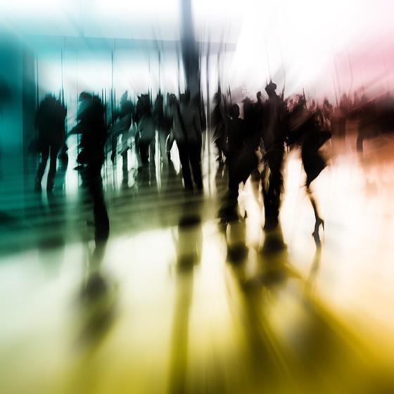 Άνθρωποι σε κίνηση