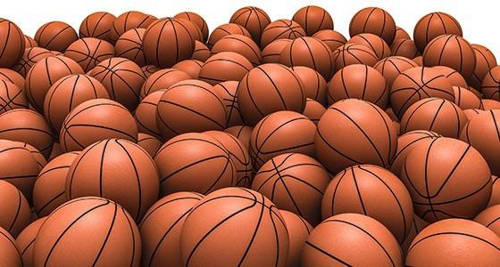 Μπάλες του μπάσκετ