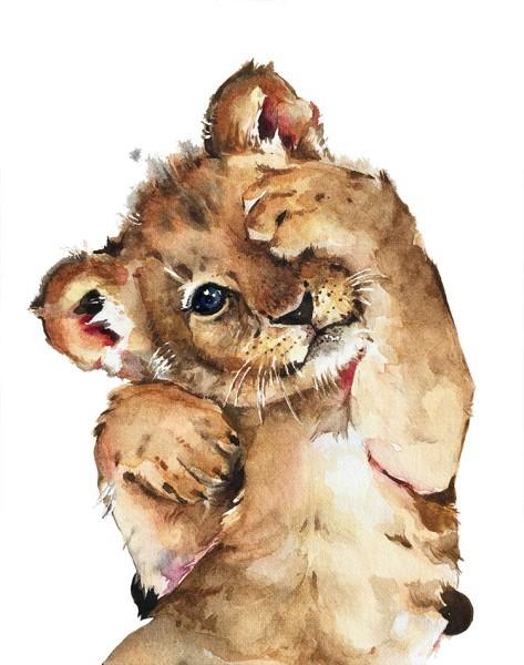 Λιονταράκι μωράκι