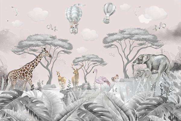 Ζώα με ροζ ουρανό