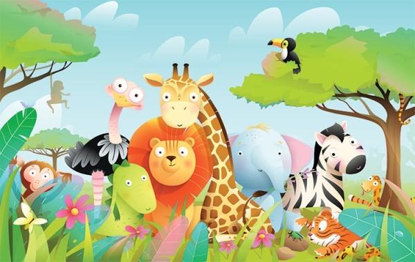 Ζώα στη Ζούγκλα
