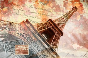 Αφηρημένη Ζωγραφιά Παρισιού, Πόλεις - Ταξίδια, Image Gallery