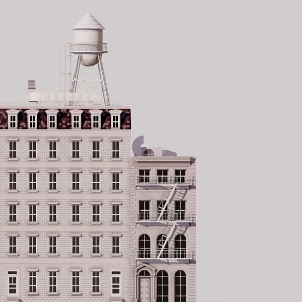 Πολυκατοικία στη Νέα Υόρκη