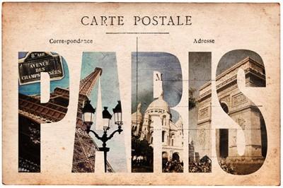 Kαρτ-ποστάλ από το Παρίσι, Vintage, Image Gallery