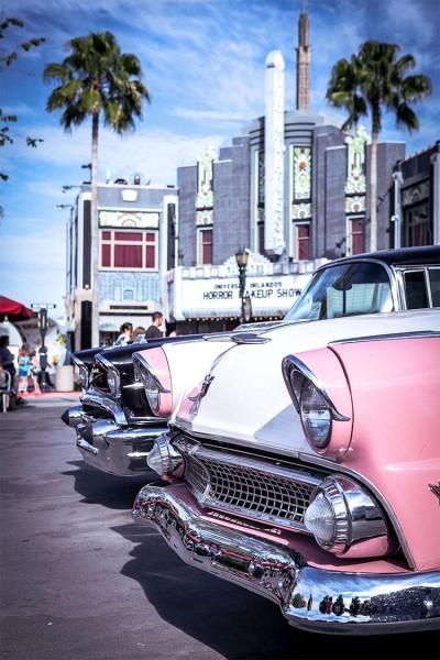 Αμάξια στην Καλιφόρνια