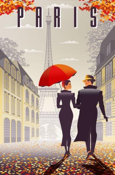 Ζευγάρι στο Παρίσι