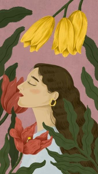 Κορίτσι illustration