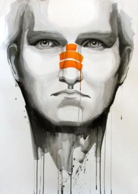Εικονογράφηση  νεαρού άνδρα, Ζωγραφική, Image Gallery