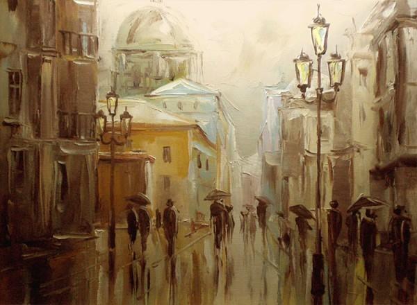Βροχερή πόλη