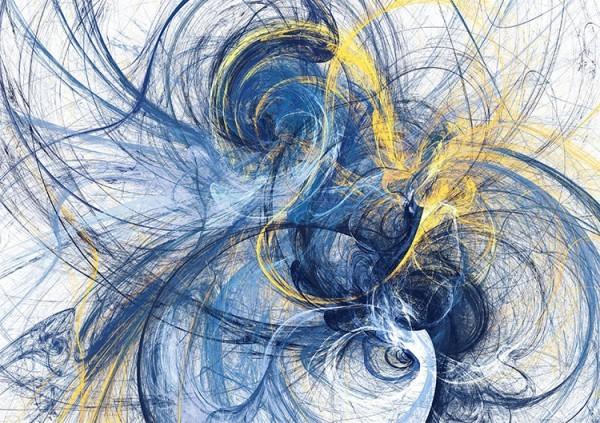 Μπλε & κίτρινες μουτζούρες