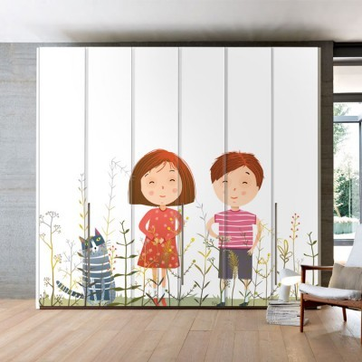 Happy Together!, Παιδικά, Αυτοκόλλητα ντουλάπας