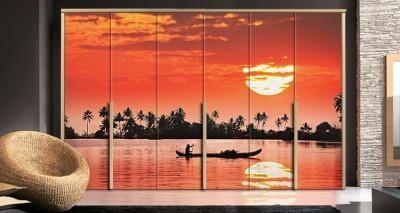 Πορτοκαλί \'Ηλιος, Φύση, Αυτοκόλλητα ντουλάπας