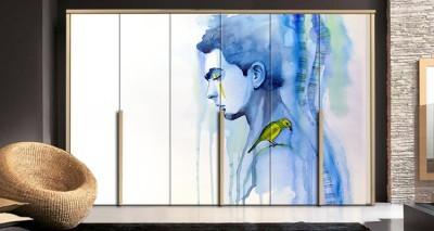 Νέαρος άνδρας, Ζωγραφική, Αυτοκόλλητα ντουλάπας