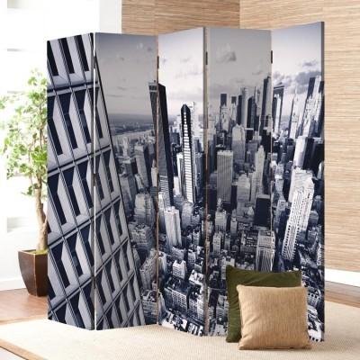 Μελλοντική πόλη, Τεχνολογία - 3D, Παραβάν