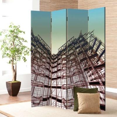 Ουρανοξύστες, Τεχνολογία - 3D, Παραβάν