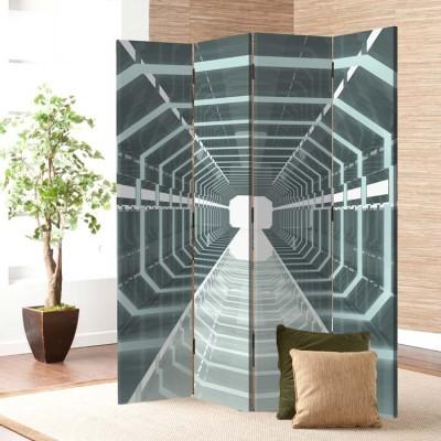 Προοπτικός διάδρομος, Τεχνολογία - 3D, Παραβάν