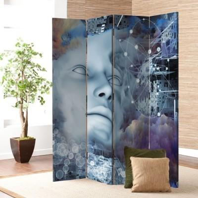 Σκέψη και όνειρα, Τεχνολογία - 3D, Παραβάν