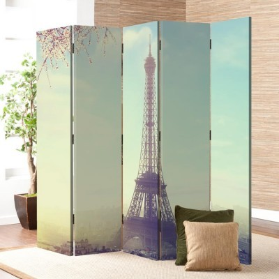 Θέα στο Παρίσι, Vintage, Παραβάν