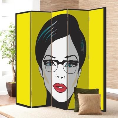 Πορτρέτο Γυναίκας, Κόμικς, Παραβάν