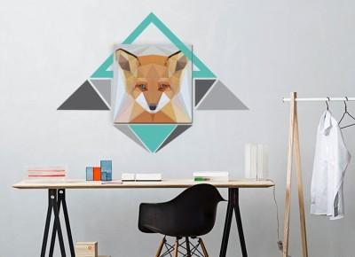 Diamond Fox, Διάφορα, Πίνακες και αυτοκόλλητα