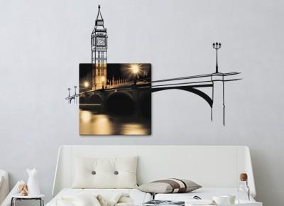 Big Ben, Διάφορα, Πίνακες και αυτοκόλλητα