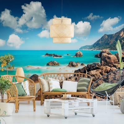Παραλία Αβαλί, Λευκάδα, Ελλάδα, Ταπετσαρίες Τοίχου