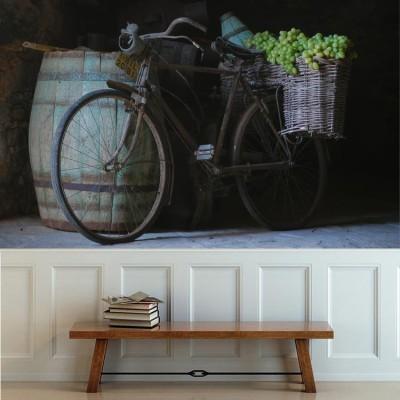 Ποδήλατο με σταφύλια, Φαγητό, Ταπετσαρίες Τοίχου