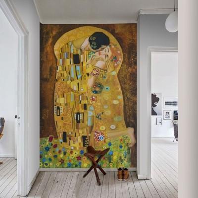 Klimt, Ζωγραφική, Ταπετσαρίες Τοίχου