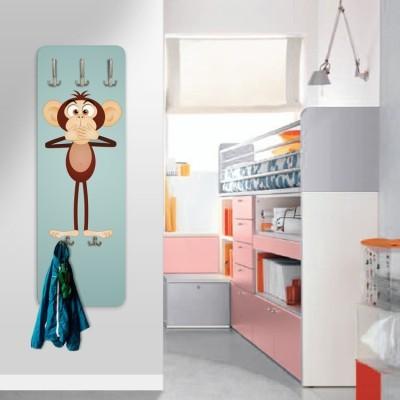Αστείοι πίθηκοι, Παιδικά, Κρεμάστρες & Καλόγεροι