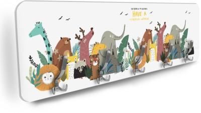 Άγρια ζώα Παιδικά Κρεμάστρες & Καλόγεροι 138 x 45 εκ.