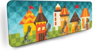 Παραμυθένια πόλη Παιδικά Κρεμάστρες & Καλόγεροι 138 x 45 εκ.